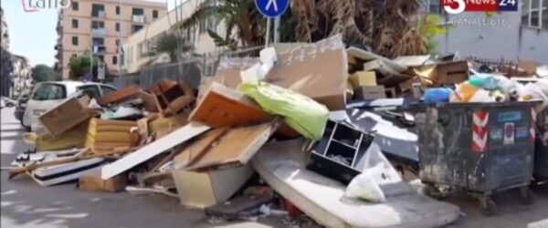 I rifiuti a Palermo : Intervista di Tr3 canale 616