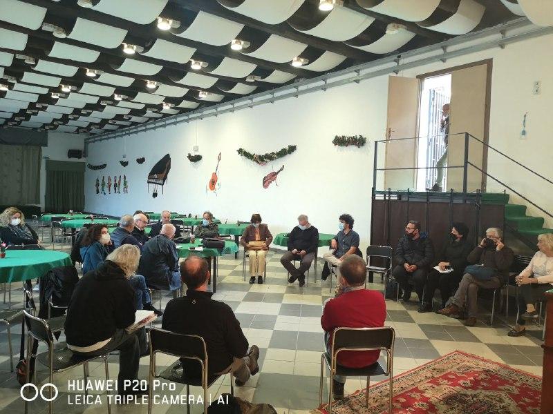 Incontro Comitato Oreto del 14 Ottobre 2021